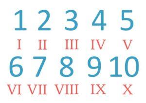9 in Roman Numerals pdf